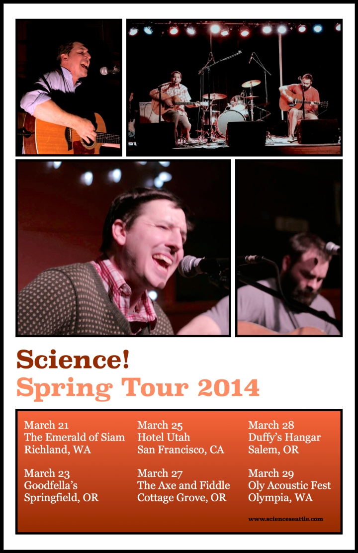 Science! - Spring Tour 2014