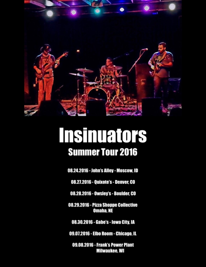 Insinuators Summer Tour 2016