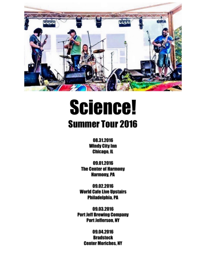 Science! Summer Tour 2016